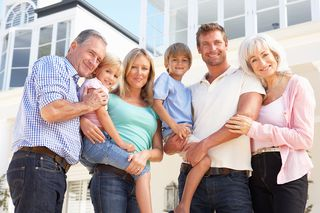 Bigstock-Extended-Family-Outside-Modern-13915094